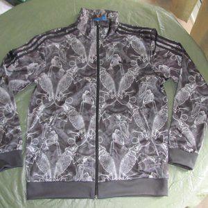 Adidas Unisex Track Jacket Lizard Skeleton Size M